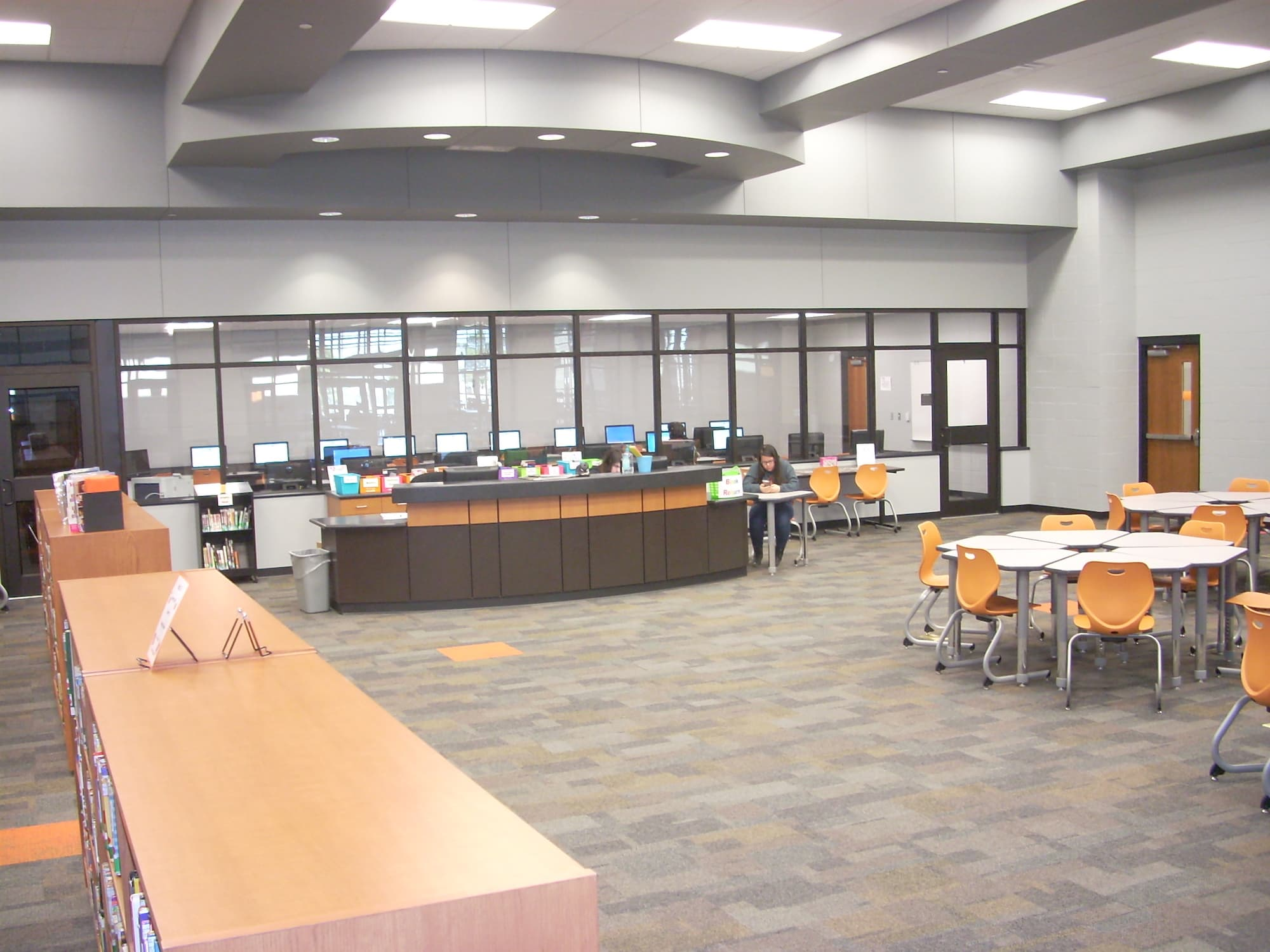 Sallisaw MS - Library 4