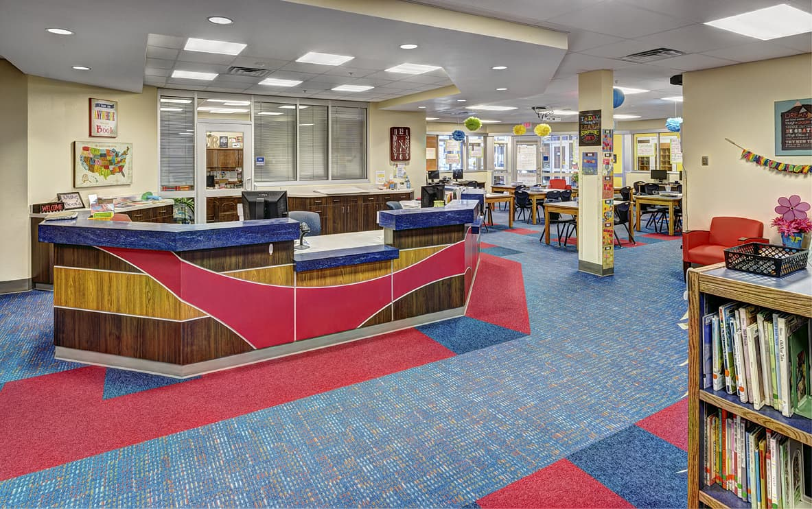 Woods ES - Library