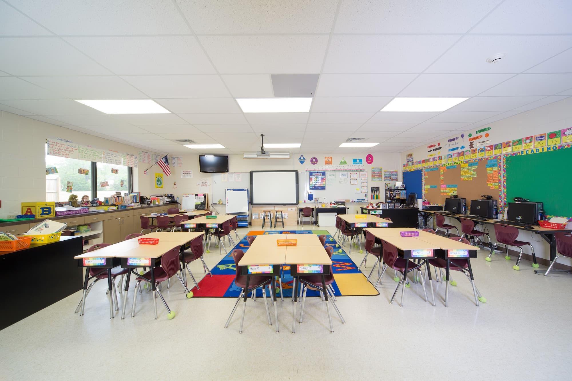 Cavanaugh ES Classroom