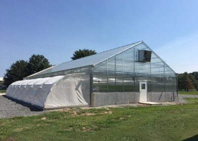 Research Greenhouse/Head House and Growth Chamber University of Arkansas